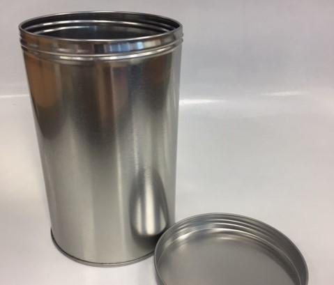 Round Tin w/screw lid RD106SL