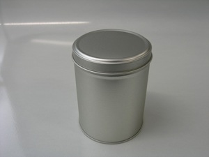 Round Tin w/slip on lid - RDML333 (T*)