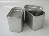 Rectangular Tea Tin with lever lid RT259