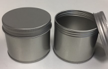 Round Tin with screw lid - RD393/SL