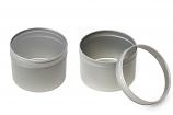 NEW Round tin w/PVC window lid RDSL-F056