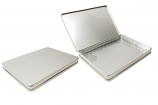 NEW A4 Document Tin RTSL-I508 w/hinged lid, blister tray + mailing box