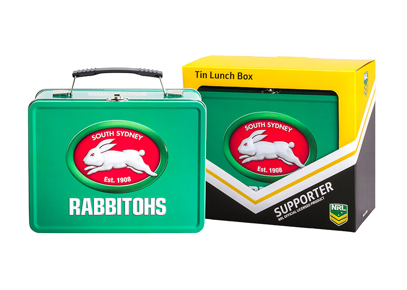 NRL Rabbitohs Lunch Box