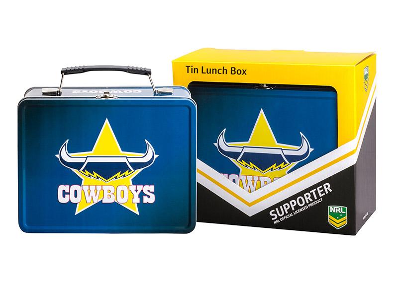 NRL Cowboys Lunch Box