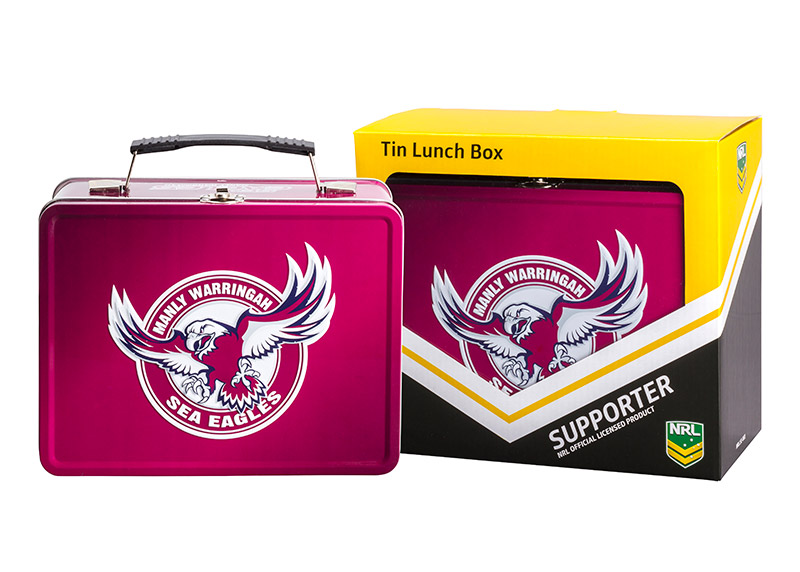 NRL Manly Sea Eagles Lunch Box
