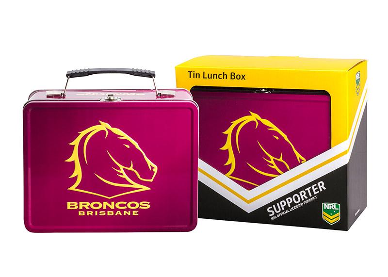 NRL Broncos Lunch Box