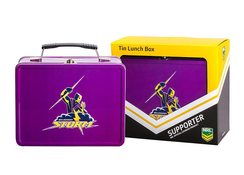 NRL Storm Lunch Box