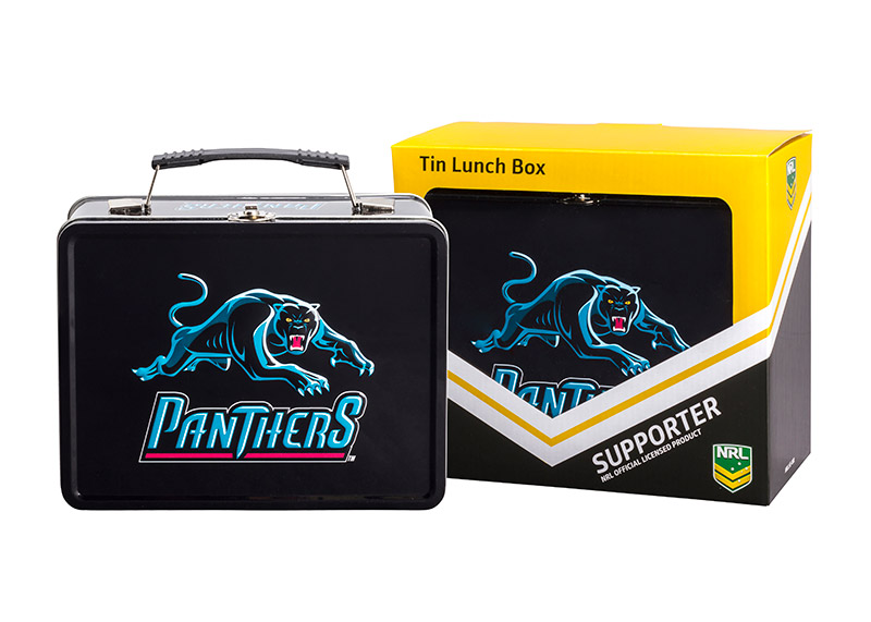 NRL Panther Lunch Box
