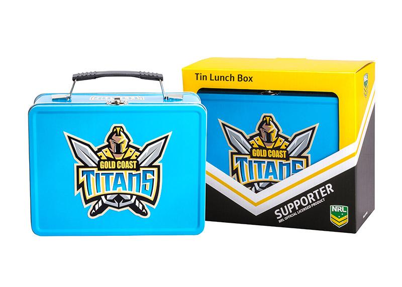 NRL Titans Lunch Box