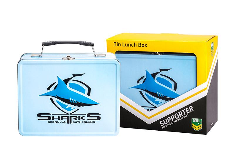 NRL Sharks Lunch Box